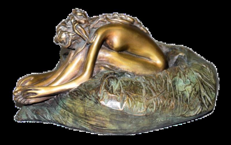 Original Bronzeplastik Bruno Bruni