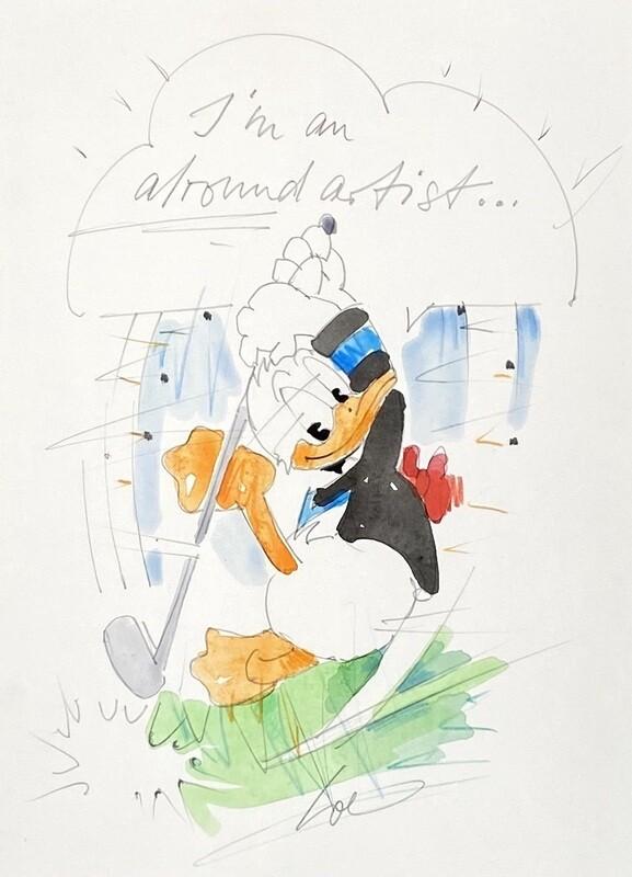"""Wolfgang Loesche Donald """"I´m an alround artist"""""""