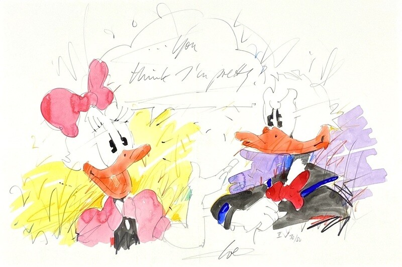 """Wolfgang Loesche Daisy und Donald """"You think I´m pretty!"""""""