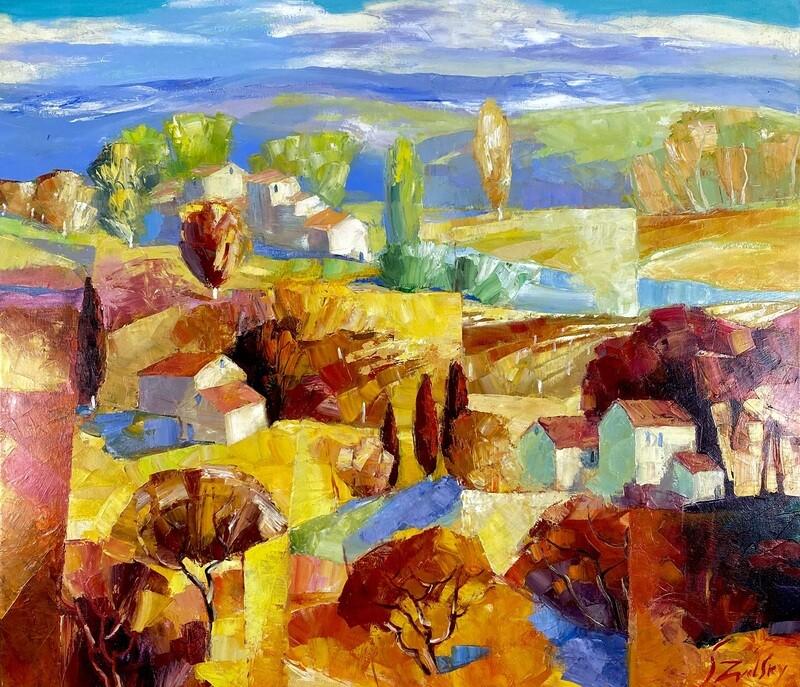 Original Gemälde Stanislav Zvolsky