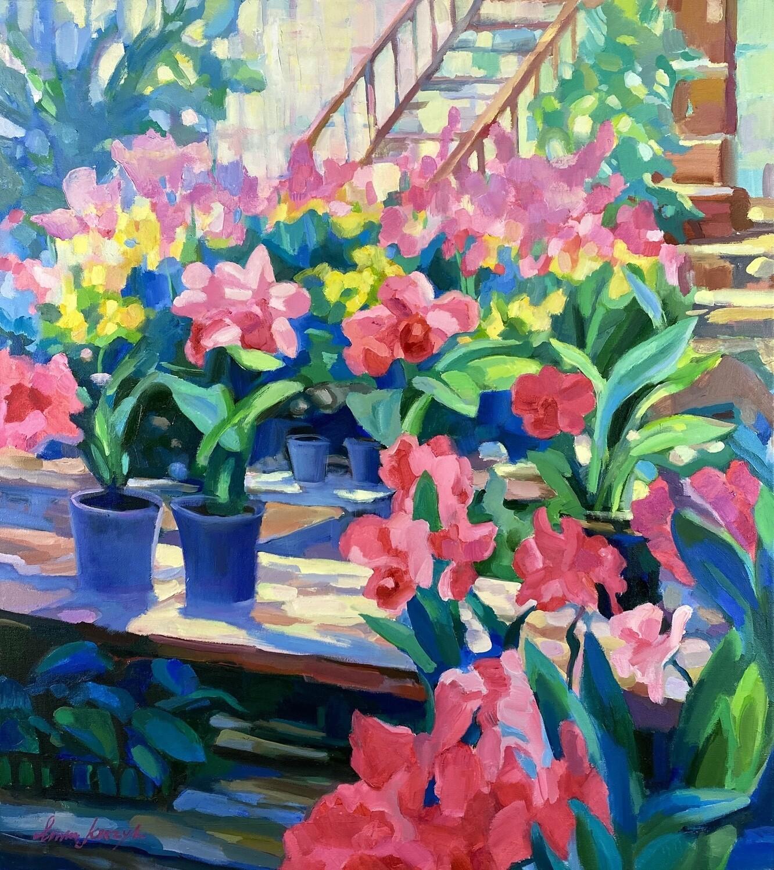 "Inna Kirzik ""Blumen im Garten"""