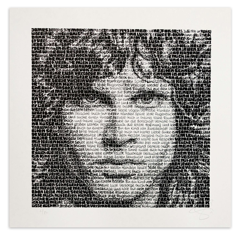 "SAXA ""Jim Morrison"""