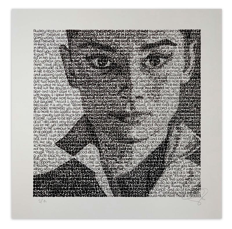 """SAXA """"Audrey Hepburn"""""""