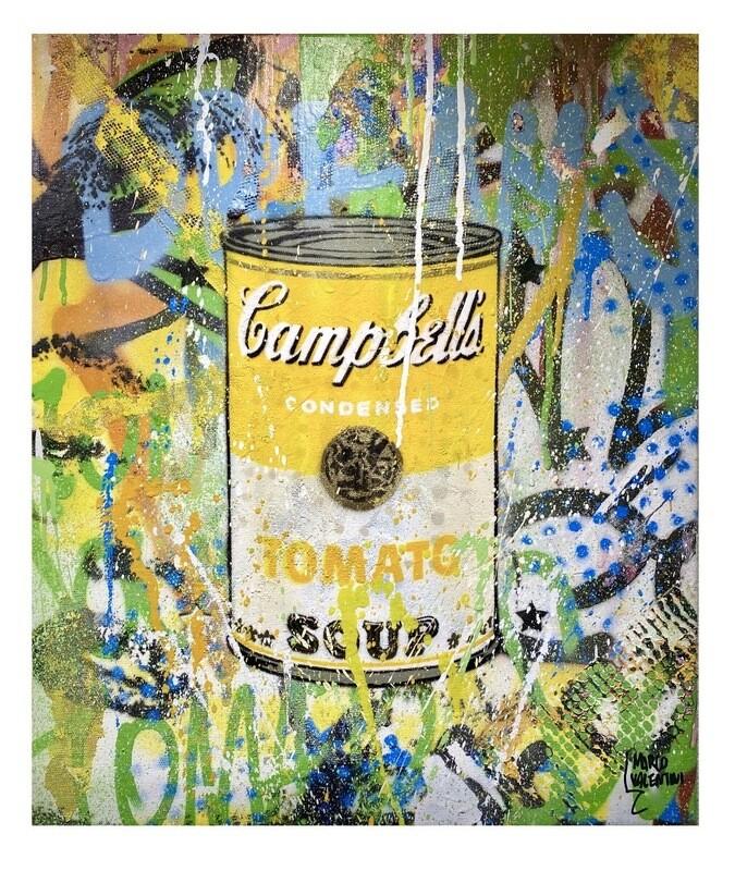 "Original Gemälde Marco Valentini ""Yellow Tomato Soup"""