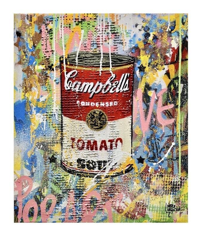 "Original Gemälde Marco Valentini ""Red Tomato Soup"""