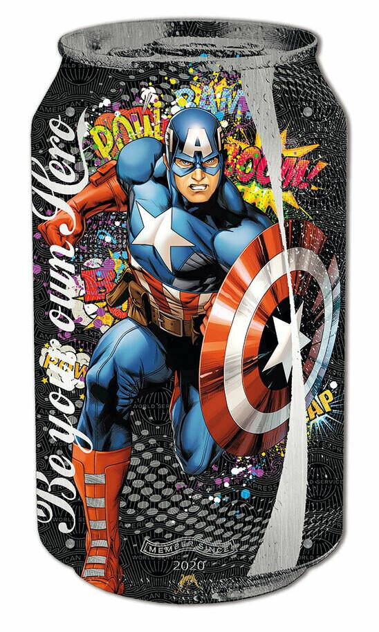 "Devin Miles ""Captain America"""