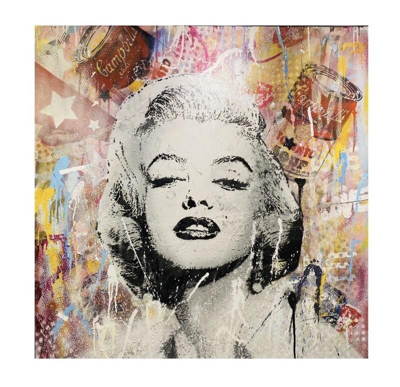 "Original Gemälde Marco Valentini ""Marilyn Monroe"""