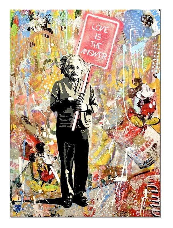 """Marco Valentini """"Einstein Love is the answer"""""""