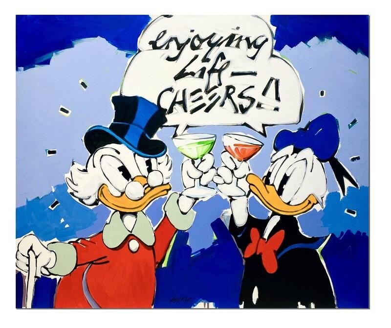 "Wolfgang Loesche Donald und Dagobert ""Enjoying Life - Cheers"""