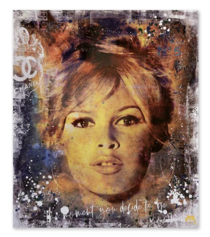 "Devin Miles ""Brigitte Chanel"" Brigitte Bardot"