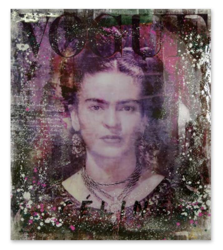 """Devin Miles """"Frida"""" Frida Kahlo"""