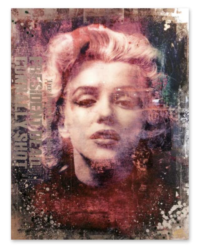 """Devin Miles """"Monroe Affair II"""" Marilyn Monroe"""
