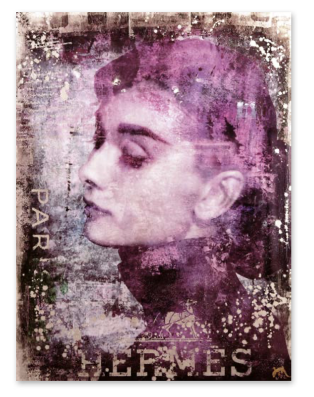 "Devin Miles ""Hermes Paris"" Audrey Hepburn"