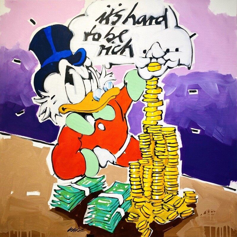 """Wolfgang Loesche Donald """"it's hard to be rich"""""""