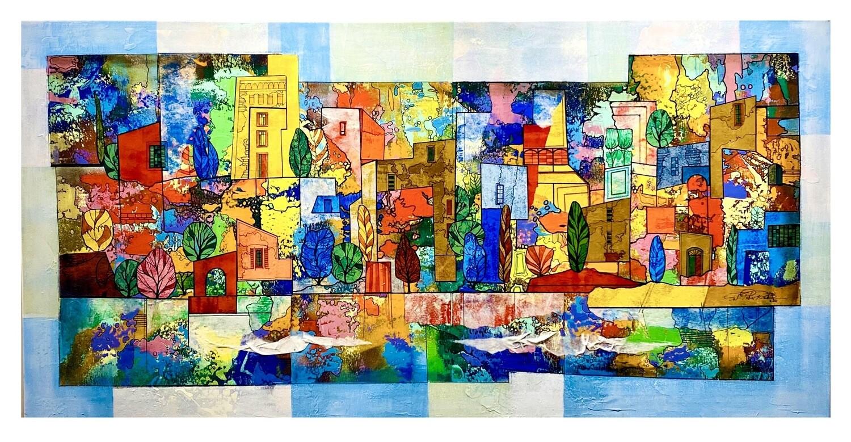 """Ernst Peter Rade """"Architektur in Farbe"""""""