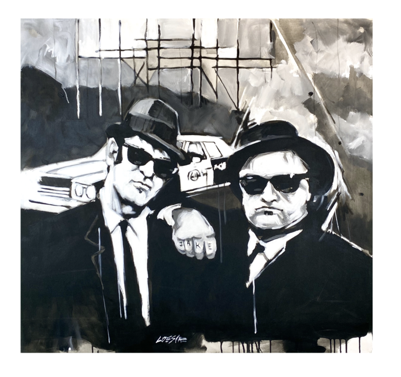 """Wolfgang Loesche """"Blues Brothers"""""""