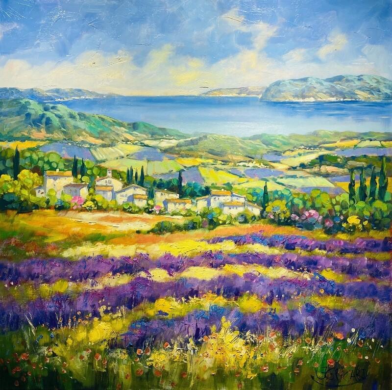 "Jean-Claude Picard ""Lavendel in der Provence"""