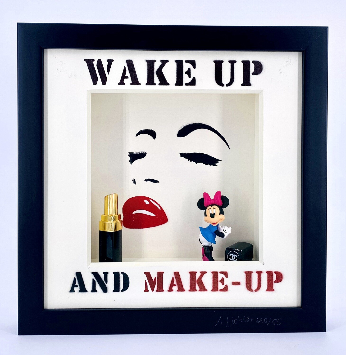 """Andreas Lichter """"Wake up and make up"""" Minnie Mouse"""