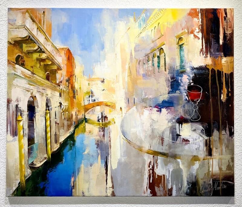 """Claude Martine """"Venedig"""""""