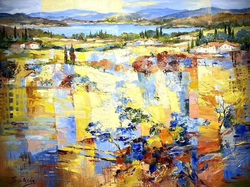 "Ewgenija Swolskaja ""Abstrakte Landschaft"""