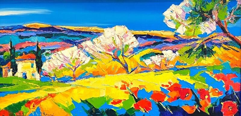 "Ewgenij Ryman "" Farbige Landschaft I"""