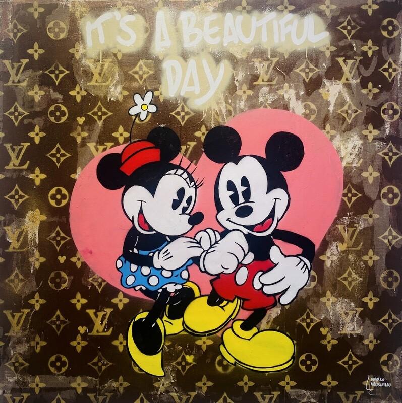 "Marco Valentini ""Mickey und Minnie Grey"""