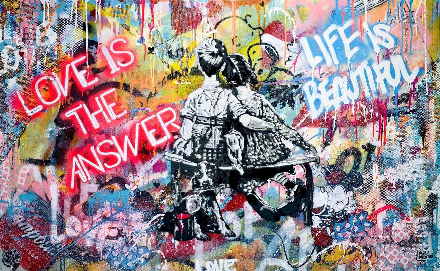 """Marco Valentini """"Just Love is the answer"""""""