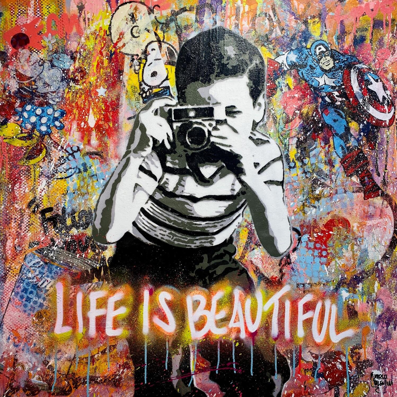 "Marco Valentini ""Life is beautiful II"""