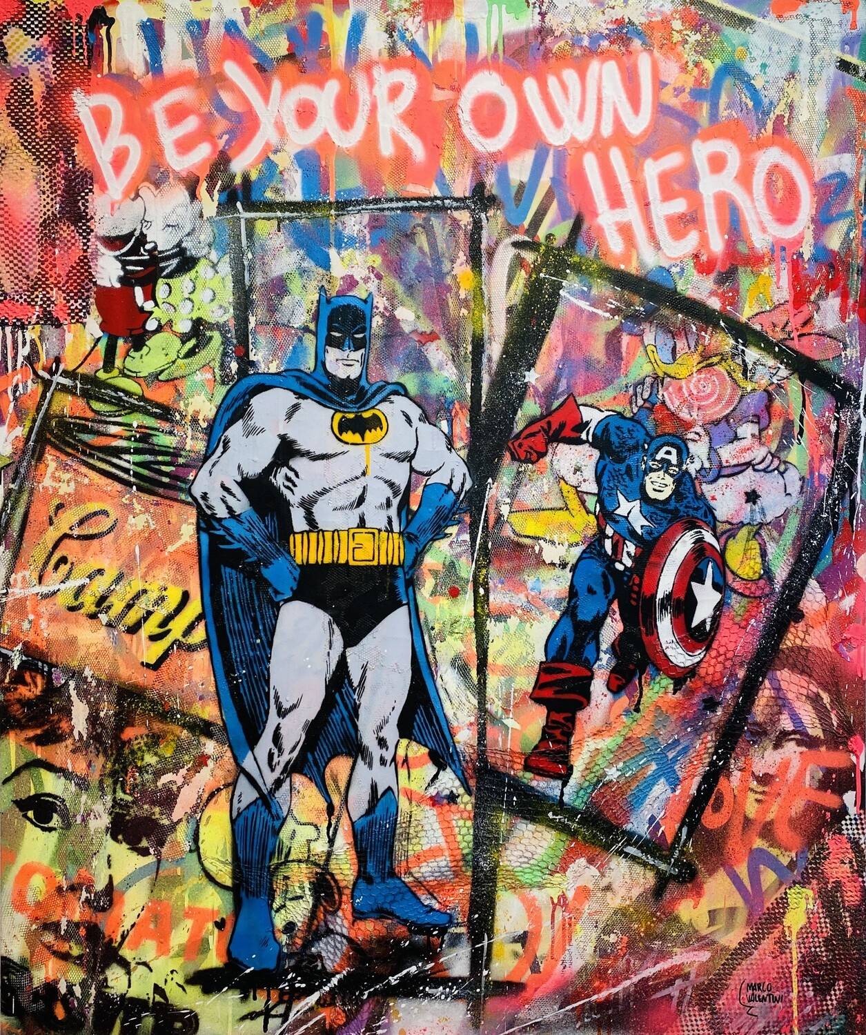 """Marco Valentini """"Be your own Hero II"""""""