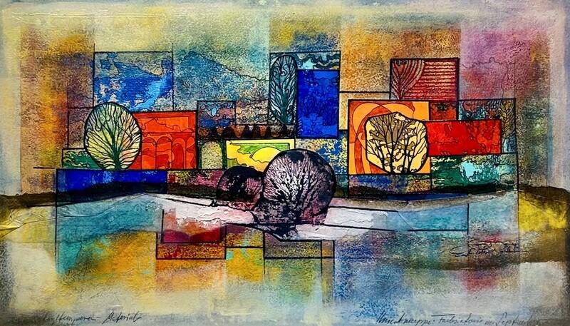 """Ernst Peter Rade """"Farbsymphonie in der Natur"""""""