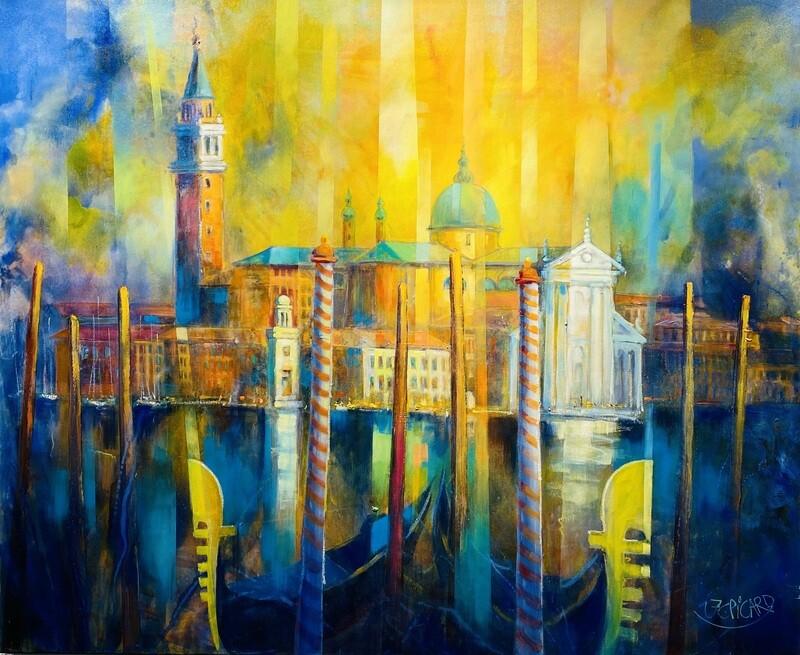"Jean-Claude Picard ""Venedig Markusplatz"""