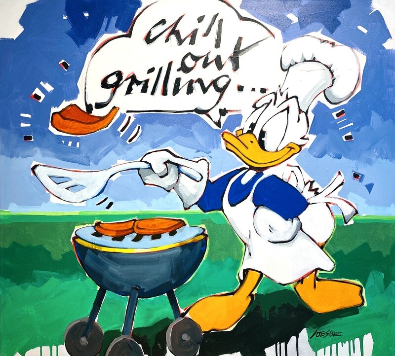"""Wolfgang Loesche Donald """"chill out grilling..."""""""