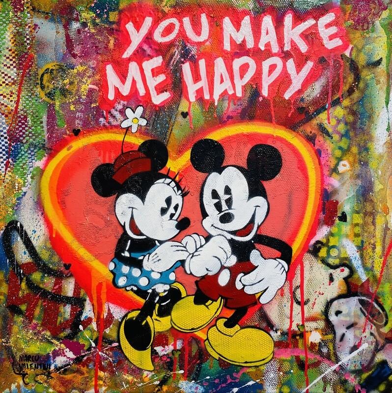 "Marco Valentini ""You make me happy"" Mickey und Minnie"