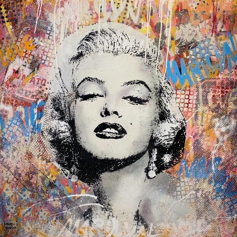"Marco Valentini ""Marilyn Monroe II"""
