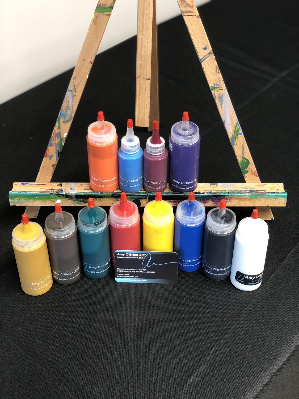 INDIVIDUAL USED ART SUPPLIES