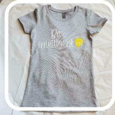 Be Intelligent Girl's T-Shirt