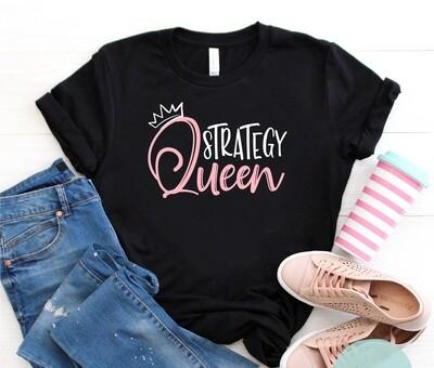 Strategy Queen T-Shirt (Pink)