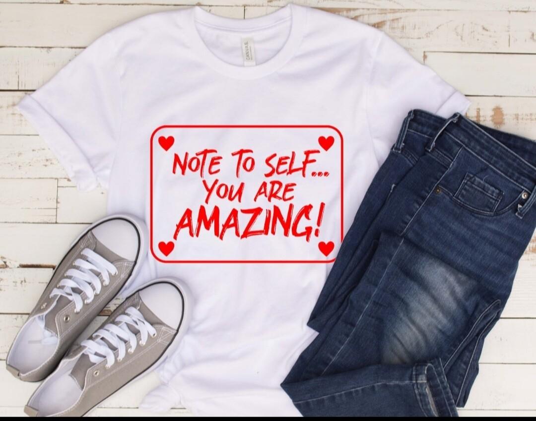 Note to Self Women's T-Shirt