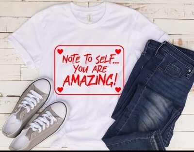 Note to Self Women's T-Shirt