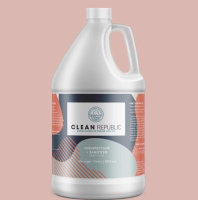 Disinfectant + Sanitizer