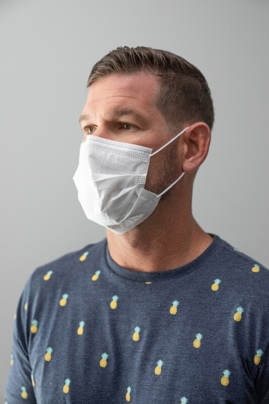 Surgical Mask 50 count (White)