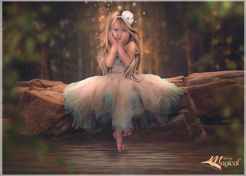 Waters Edge Background | Digital Backdrop | Digital Background | Portrait Background | Fairy Backdrop |Fairy Background | Photo Backdrop