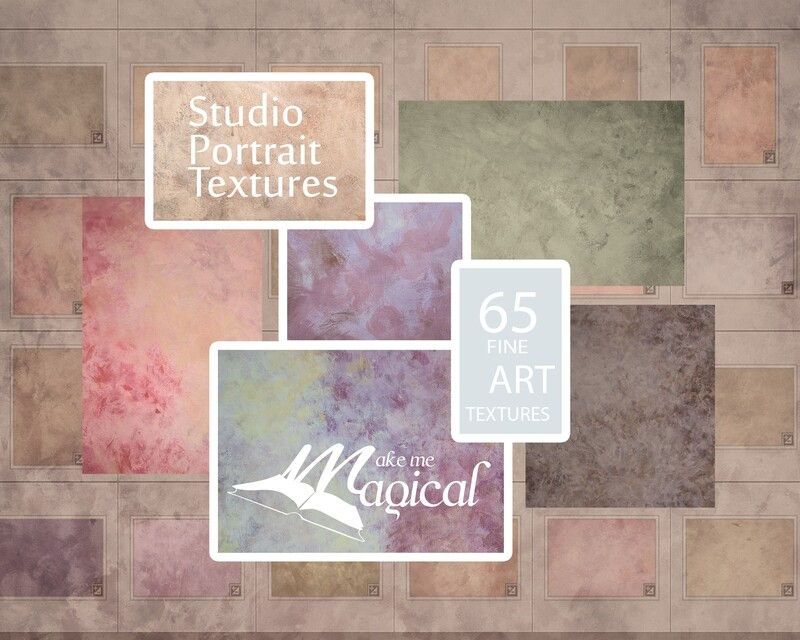 65 x hand painted fine art photo textures for studio portraits by makememagical. Big pack of 65 textures in total