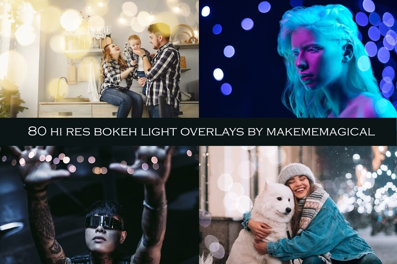 80 Hi Res Jpeg Bokeh lights overlays, colourful bokeh for studio or outdoor photos, great for Christmas, Valentines, Mothers Day photos.