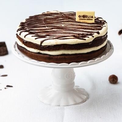 Torte Semifreddo Golosa con mascarpone, pan di spagna al cacao e crema alla gianduia