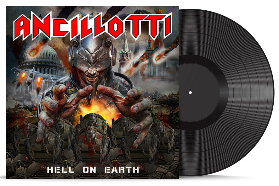 HELL ON EARTH (LP - Black) - 2020 NEW - JUST ARRIVED!