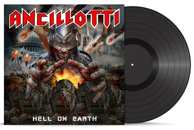 HELL ON EARTH (LP - Black) - 2020 NEW - SOLD OUT soon in stock!