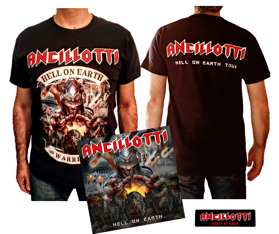 """Exclusive """"Hell On Earth"""" Release Offer  (Cd + T-Shirt - Sticker Free)  - Until 31th July 2020!!"""