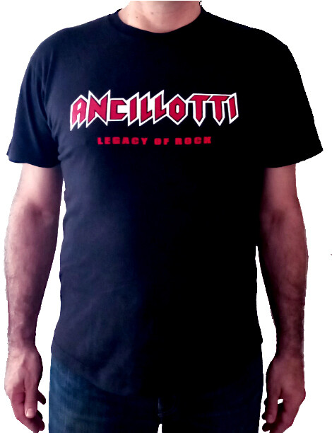 "ANCILLOTTI T- SHIRT CLASSIC ""LEGACY OF ROCK"""