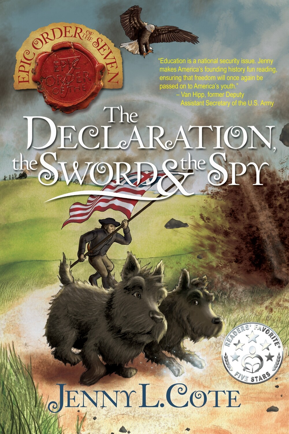 The Declaration, the Sword, and the Spy, (Book Eight) Personalized